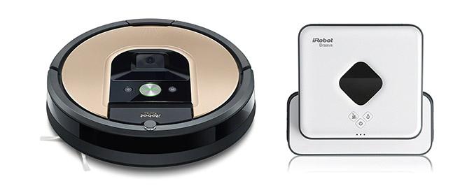 Komplet Roomba 976 & Braava 390t