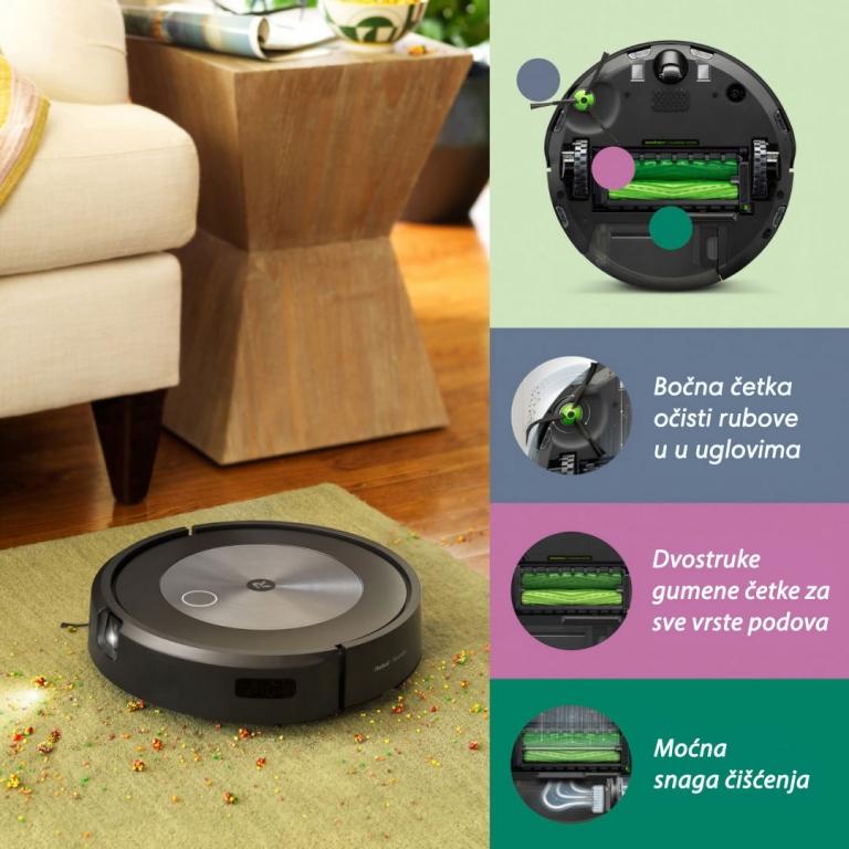 Roomba robot usisivač perfomanse i snaga