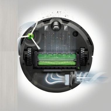 Robotski sesalec Roomba umazanija