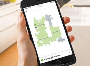 iRobot App phone screen